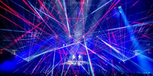 лазерное бим шоу